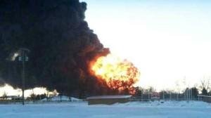 North Dakota oil train
