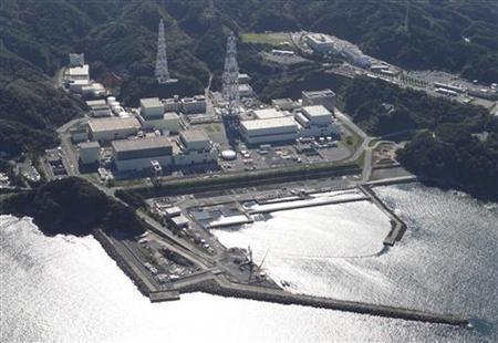 Onagawa Nuclear Power Plant is seen in Onagawa town